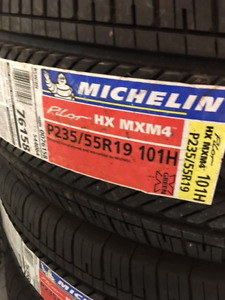 New Old Stock Set of 4 Michelin Pilot Radials
