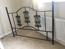 King-size Metal headboard