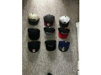 Wide selection of hats
