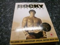 ROCKY ANTHOLOGY BOX SET VERY GOOD CONDITION