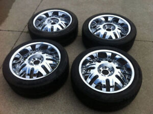 """20"""" RockStar Rims with Tires"""