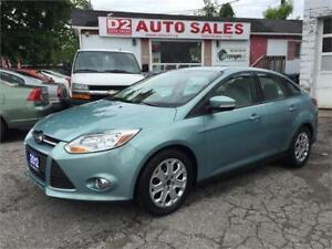 2012 Ford Focus SE/Bluetooth/Heated Seats/Low KM/Certified