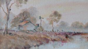 Australian Landscape Oil on Canvas - Dekker