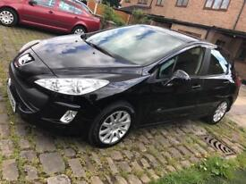 Peugeot 308 1.6 hdi 90 sr 5dr (2009) *warranty included*low mileage*£30 year tax