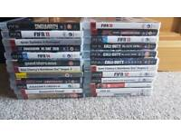 Playstation 3 & over 20 games