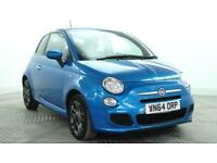 2015 Fiat 500 S Petrol blue Manual