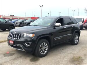 2014 Jeep Grand Cherokee LIMITED**LEATHER**SUNROOF**BLUETOOTH**