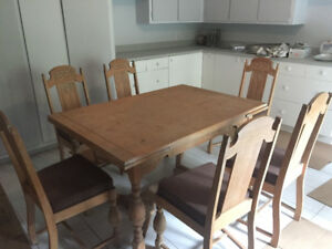 1939 vintage dining room set