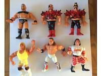 Wwf / Wwe Hasbro Wrestling Figures Lot 1