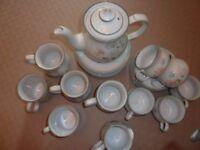 Denby China tea and coffee set