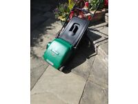 Electric lawn mower in good condition