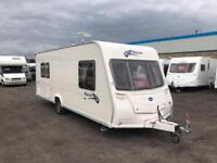 2007 BAILEY PAGEANT SERIES 6 PROVENCE - END BEDROOM - L-SHAPE LOUNGE - 5 BERTH TOURING CARAVAN