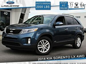 2014 Kia Sorento LX 4WD **BLUETOOTH*HITCH**