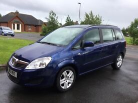 2010 VAUXHALL ZAFIRA 1.9 CDTI EXCLUSIVE 7 SEATER P/EX WELCOME