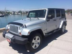 2010 Jeep Wrangler Sahara automatic $21995