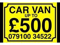 079100 345 22 SELL MY CAR VAN MOTORCYCLES FOR CASH BUY YOUR SCRAP FAST SCRAP De
