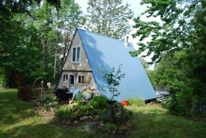 A-Frame Cottage on 13 Island Lake