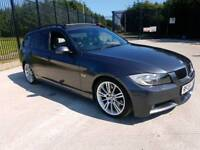 2008 Bmw 330d M-Sport Top Spec (Pan Roof Xenons Auto Leather I-drive Ect)