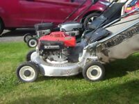 Honda Hr 194 alloy deck lawnmower mower self propelled