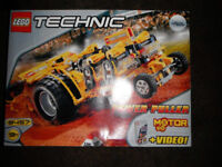 lego technics this is a rare set complete only built once