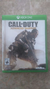 Jeux XBOX ONE (Call of Duty, Gears of War, Watch Dogs 2, Just Ca