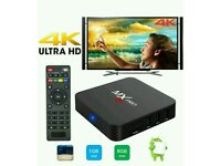 ANDROID TV BOX. SMART TV. HD 3D 4K ULTRA
