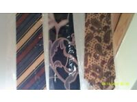 Collection Of Silk Ties From 1975 to 1995 In total 200