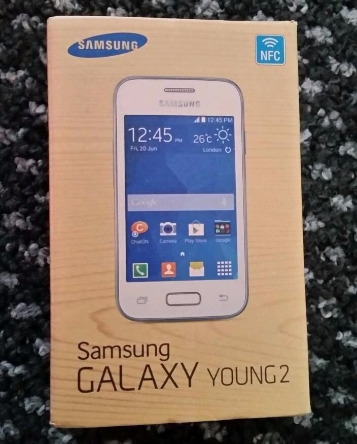 New Samsung Galaxy Young 2 White (unlocked) Android Smartphone SM G130HN Boxedin Southall, LondonGumtree - NEW FULLY TESTED UNLOCKED TO ALL NETWORKS INCLUDING THREE Will Also Work Abroad New SAMSUNG GALAXY YOUNG2 BOXED Comes with Charger Usb Handsfree Seller WARRANTY This is the cheapest price on the Internet Delivery Available at an extra cost Call Only...