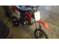 110cc Manuel pit bike