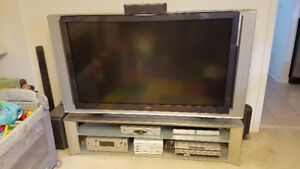 SONY Grand WEGA 60 Inch TV plus Stand and Remote