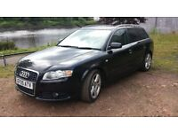 AUDI A4 S-LINE, 11 MONTHS MOT WITH NO ADVISORIES