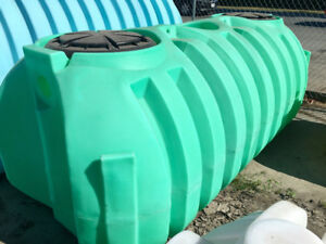 Dual Compartment 1000G Septic Tank