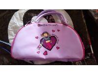 Purple Groovy Chick Bag (includes zipper pocket)