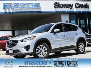 2016 Mazda CX-5 GX AWD, AUTO, 2.5 L,B/T, CRUSIE,A/C,ACC FREE!