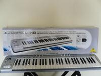 Behringer U-Control UMX61 USB/Midi Controller 61 Key Keyboard + Stand