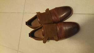 Like New Men's Brown Dress Shoes US Size 7