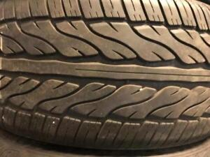 4 staggered 315/35/20 and 275/40/20 AZURA zeta tires %95 tread