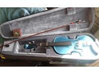 rainbow company full size violin with bow