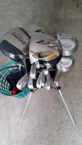 Full Nike Victory Golf Set with Bag & Shoes (new)