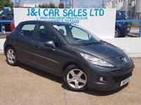 PEUGEOT 207 1.6 HDI ENVY 5d 92 BHP A GREAT EXAMPLE INSIDE AND (grey) 2011