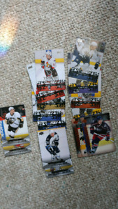 Hockey card lot with young guns