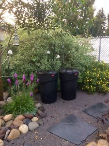 121L rolling garbage cans