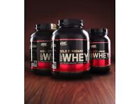 Gold standard whey protein 2.27kg Available in Many Flavours £42 For 1 Or £120 For 3
