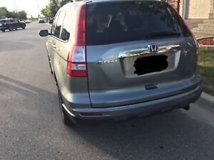 Honda CRV EX with all season mats and winter tires