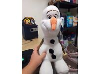 Frozen's Olaf Build a Bear Soft Toy