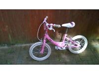 Girls bike (needs minor servicing)