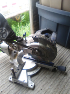 Sliding compound miter saw 7 and 1/2 inch