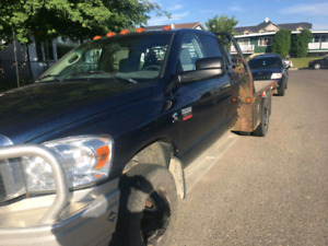 2007 dodge ram 3500 dually flatdeck 4x4 6.7 diesel 6 speed