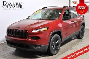 2016 Jeep Cherokee SPORT**SIÈGES ET VOLANT CHAUFF.**
