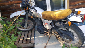 Trading 1981 yamaha xt500 for a newer bike or sled